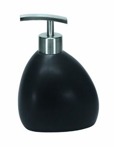 Kleine Wolke Ethno Contemporary Stoneware Soap Dispenser 606t X 413w Black *** Check out this great product.