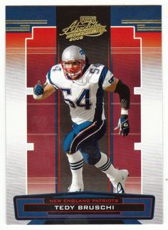 Tedy Bruschi # 92 - 2005 Playoff Absolute Memorabilia Football