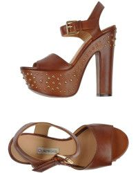 L'Autre Chose Brown Sandals - Lyst