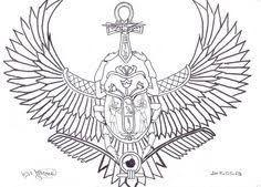 Resultado de imagen para egyptian tattoo wings