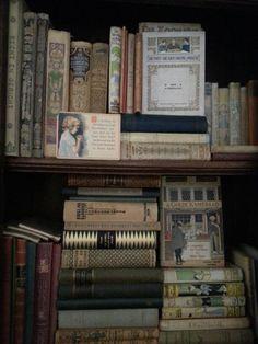 Oude boeken voor de reminiscentie kamer