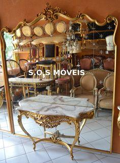 Garro Luis XV Dourado | SOS Móveis Antigos