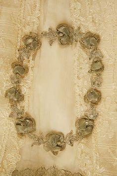 Evening dress Designer: Jacques Doucet (French, Paris 1853–1929 Paris) Date: 1905–7 Culture: French Medium: silk Dimensions: Length at CB: 60 in. (152.4 cm)
