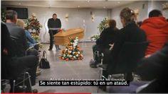 Video para crear conciencia,Invitada a su propio funeral