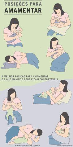 Posições para amamentar o bebê - foto: bearsky23/ShutterStock.com