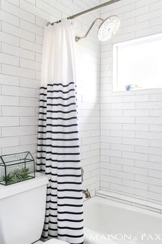 30 trendy shower curtains that will have you wanting to update your rh pinterest com