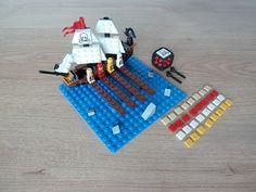 Totobricks: LEGO 3848 LEGO BOARD GAME Pirate Plank Lego Board Game, Lego Boards, Board Games, Legos, Plank, Pirates, Skateboard, Triangle, Game Boards