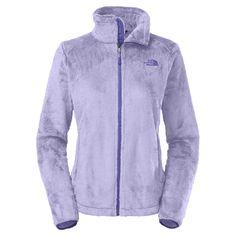 NWT/DEFECT The North Face Osito 2 Fleece Zip Coat Jacket Sweater Purple S❄️ #TheNorthFace #FleeceJacket
