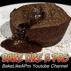 Chocolate Molten Lava Cakes ! BakeLikeAPro   Please visit my Youtube channel for all my video recipes !  Easy to follow, step-by-step from beginning to end.  I make it easy for you to follow !  www.youtube.com/user/bakelikeapro Chocolate Lava Cake, Best Chocolate, Chocolate Recipes, Swans Down Cake Flour, Lava Cake Recipes, Molten Lava Cakes, Chocolate Decorations, Best Food Ever, No Bake Cake