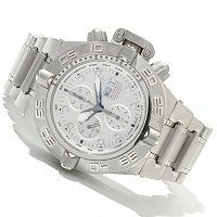 Invicta Men's Subaqua Noma IV Swiss Valjoux 7750 Meteorite Dial Stainless Steel Bracelet Watch ShopNBC.com