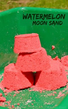 Quick Make Your Own Watermelon Moon Sand Recipe. DIY Watermelon Crafts and Activities Your Kids Will Want to Do. There are so many great watermelon crafts and sensory activities for preschoolers and toddlers to choose from.