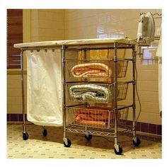 ironing board-h&er-sorter & Iron-A-WayLLC Premium Non Electric Ironing Center Door Hinge: Left ... pezcame.com