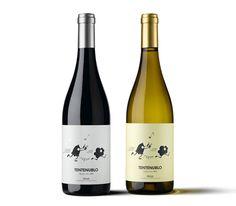 Tentenublo #Wines (D.O. Ca. #Rioja) Seleccionado finalista en categoría Mejor envase, Premios Anuaria 2012. El tentenublo es un repique de campanas utilizado antiguamente en tierras españolas para alejar las tormentas de granizo.  #Packaging
