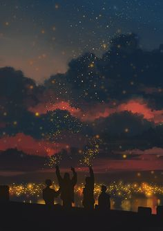 Find images and videos about beautiful, art and sky on We Heart It - the app to get lost in what you love. Scenery Wallpaper, Wallpaper Backgrounds, Aesthetic Backgrounds, Aesthetic Wallpapers, Aesthetic Art, Aesthetic Anime, Stock Design, Fille Anime Cool, Wow Art