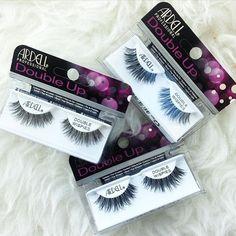 Loving these new Ardell Double Up Wispies Black false eyelashes from @madame_madeline_lashes (www.MadameMadeline.com)