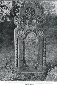Náhrobný kameň, Južné Slovensko/ Tombstone, South Slovakia
