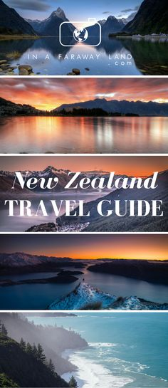 SAMPLE ROAD TRIP ITINERARIES, BEAUTIFUL PLACES TO PHOTOGRAPH AND BEST PLACES TO HIKE IN NEW ZEALAND