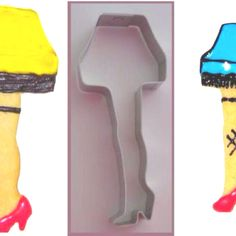 Leg Lamp Cookie cutter! How cool is this?