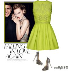 Party Dress Up by marion-fashionista-diva-miller on Polyvore featuring moda, Jimmy Choo and contestentry