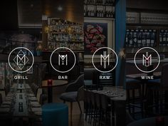 M Restaurants (London), Identity | Restaurant & Bar Design Awards