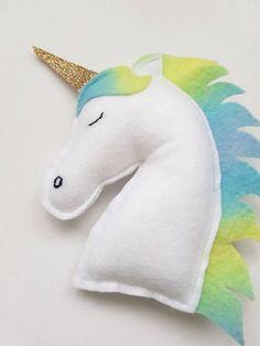 Unicorn Plushie Cute Softie Kawaii Plushie Kids Toy