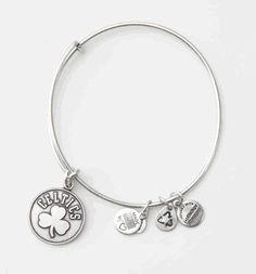 Alex and Ani Silver Shamrock Bracelet