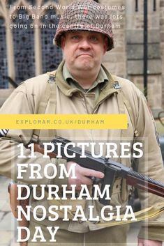 Durham nostalgia day took place on the May Bank Holiday weekend. From Second World War costumes to Big Band music, there was lots going on in the centre of Durham. American Uniform, Vintage Sweets, 101st Airborne Division, Bank Holiday Weekend, Girls Hand, Main Attraction, Durham, World War Two, Choir