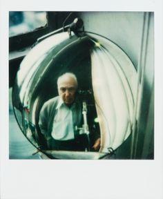 André Kertész, self-portrait, c. 1979-1984, polaroid SX-70 (Sothebys auction - Nov. 2012)