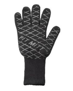 Pit Grilling Mitt: Reversible, protects the wrist, heat resistant to 425 degrees.