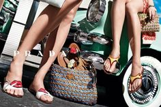 Post image for Designer Crochet: Prada Prada Spring, Miuccia Prada, Shoes Editorial, Editorial Fashion, Prada Bag, Prada Shoes, Dna Model, Shoes Ads, Advertising Campaign
