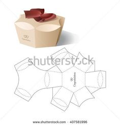 Find Retail Box Blueprint Template stock images in HD and millions of other royalty-free stock photos, illustrations and vectors in the Shutterstock collection. Thousands of new, high-quality pictures added every day. Paper Gift Box, Diy Gift Box, Diy Box, Paper Gifts, Diy Gifts, Paper Boxes, Gift Boxes, Packaging Dielines, Box Packaging