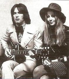 Charlotte Martin with Eric Clapton