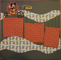 scrapbook layouts mickey mouse border - Yahoo Image Search Results