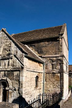 The Anglo Saxon Church of St Laurence Bradford on Avon Wiltshire England by Mark Sunderland, via Flickr