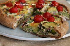 Torta di zucchine e ricotta, ricetta  http://blog.giallozafferano.it/cucinaconamelia/torta-di-zucchine-e-ricotta-ricetta/