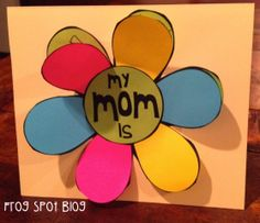 Frog Spot: Mother's Day Card