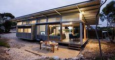 SupaShak - Fantastic deals on Kangaroo Island, South Australia holidays. Prefabricated Houses, Prefab Homes, Shed Homes, Kit Homes, Barn Homes, Zen House, Farm House, Kangaroo Island, Beach Shack