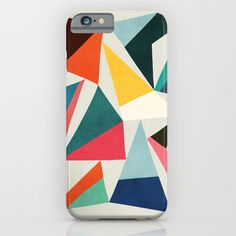 Collection of pointy summit iPhone & iPod Case Our Slim Cases are constructed as a one-piece, impact resistant, flexible plastic hard case with an extremely slim profile. #abstract, #geometric, #shapes, #color