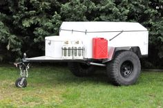 Converting a utility trailer - Expedition Portal
