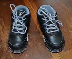 newest f22c0 5f60e (eBay Sponsored) Jordan Flight black gray basketball shoes toddler sz 10 C