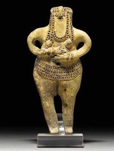 omgthatartifact:  Fertility Figure Egypt, 1640-1532 BC Christie's