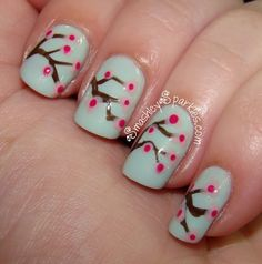 Lovely spring nails
