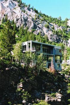 MODERN IN UTAH: Mountain Home in Utah. 10/6/2012 via @Architizer (Official)
