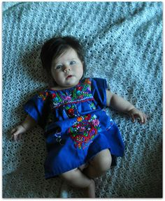 Maria  Ethnic  Handmade Embroidered Mexican by elizabethpalmer, $45.00