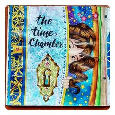 """""""The Time Chamber!!! Beautiful!!! Post by @dianigiraldor. ------------ Envie Direct ou #livrocoloriramo e compartilhe as cores e os livros de colorir.…"""""""