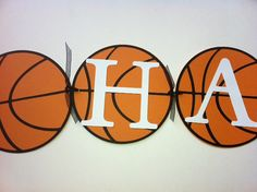 Basketball Party Banner Sports Party Theme by NatashaCrafts, $20.00