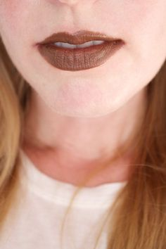 Bite Beauty Multistick in Cocoa, on lips. http://beautyeditor.ca/2016/08/23/bite-beauty-multistick