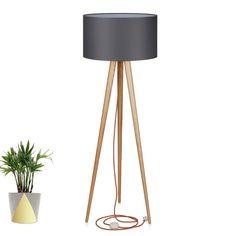lampa podłogowa stojąca trójnóg oświetlenie