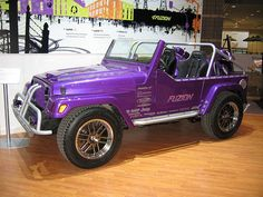 Fuzion Jeep by carizzmacolors, via Flickr