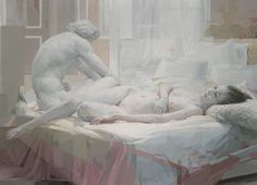 Ep 98 - Zoey Frank : Contemporary Classic - John Dalton - gently does it . John Dalton, Maron, Hokusai, Dora, Paint Photography, Contemporary Classic, Cecile, Old Master, White Bedding